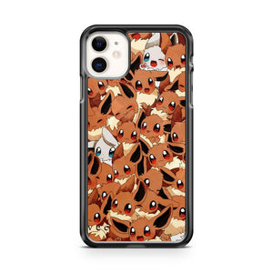 Best Pokemon eevee pattern iPhone 11 Case Cover | Oramicase