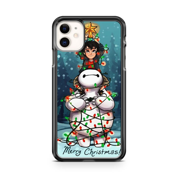 Big Hero 6 Baymax and Hiro Christmas S8 3D iPhone 11 Case Cover | Oramicase