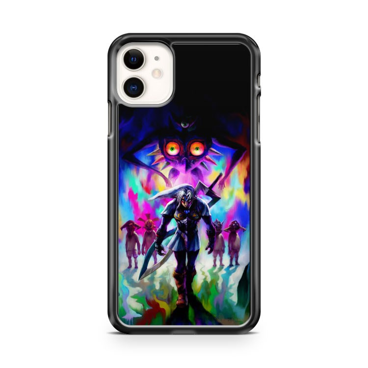 cool the legend of zelda majora mask 3 iPhone 11 Case Cover | Oramicase