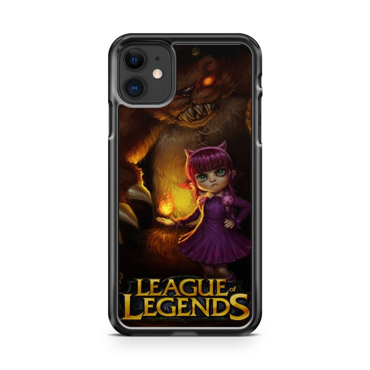 Annie League of Legends Games iPhone 11 Case Cover | Oramicase