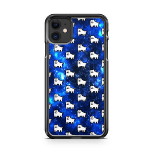 annoying dog pattern iPhone 11 Case Cover | Oramicase