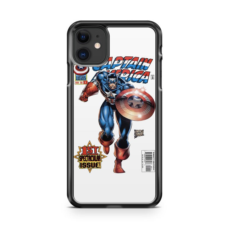 Anymode Marvel Comics Captain America iPhone 11 Case Cover | Oramicase