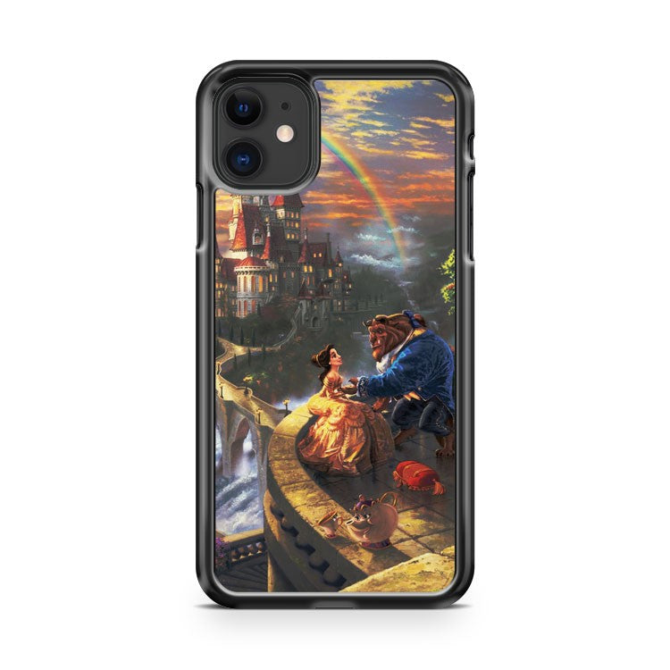 artistic disney Beauty and The Beast iPhone 11 Case Cover | Oramicase