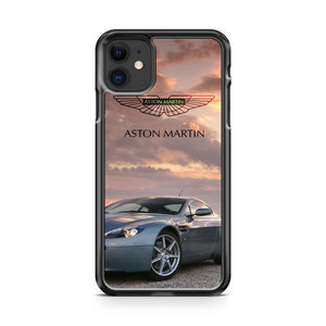 Aston Martin V8 Vantage Sunset iPhone 11 Case Cover | Oramicase