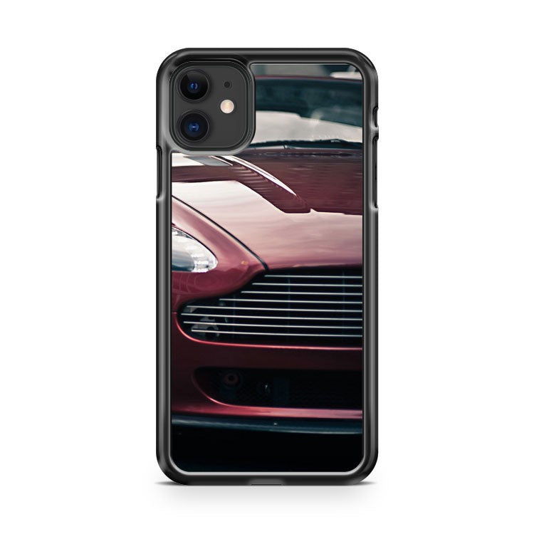 aston martin v8 vantage traffic city iPhone 11 Case Cover | Oramicase