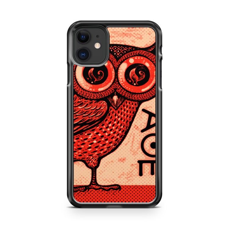 Athena s Owl 2 iPhone 11 Case Cover | Oramicase
