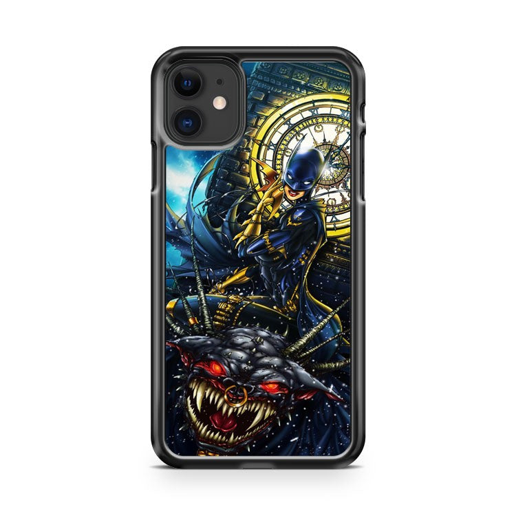 batgirl ride bat monster iPhone 11 Case Cover | Oramicase