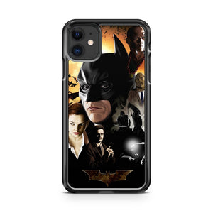 Batman Begins Poster In 1972 iPhone 11 Case Cover | Oramicase