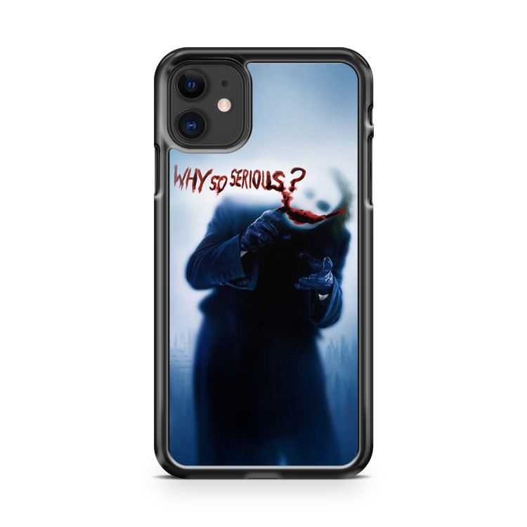 Batman Joker Why So serious iPhone 11 Case Cover | Oramicase