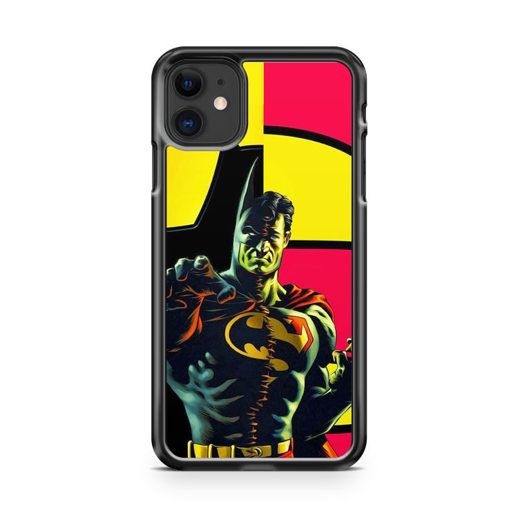 BATMAN v SUPERMAN comics iPhone 11 Case Cover | Oramicase