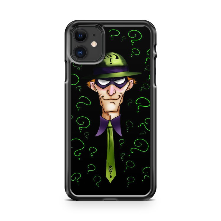Batman Villains The Riddler iPhone 11 Case Cover | Oramicase