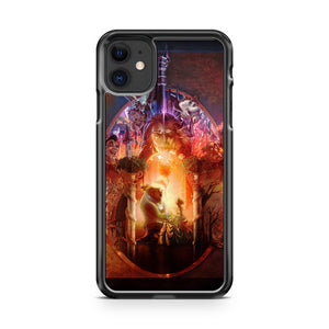 beauty and the beast art iPhone 11 Case Cover | Oramicase