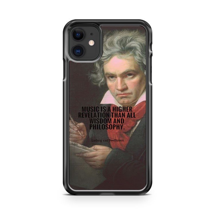 beethoven music is a higher revelation iPhone 11 Case Cover | Oramicase