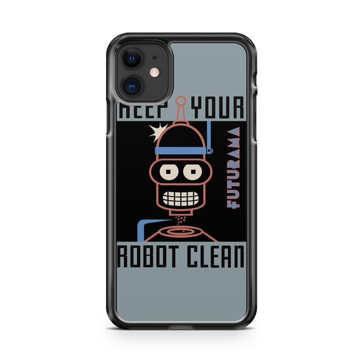 bender poster futurama iPhone 11 Case Cover | Oramicase