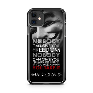 Best Anonymous Quotes iPhone 11 Case Cover | Oramicase