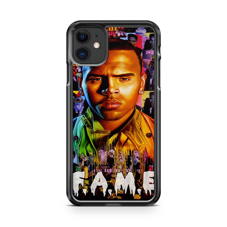 Cover for Chris Brown s F A M E album iPhone 11 Case Cover | Oramicase