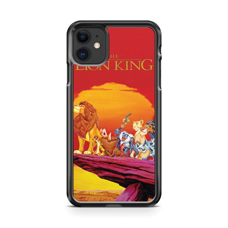 The Lion King walt disney characters iPhone 11 Case Cover