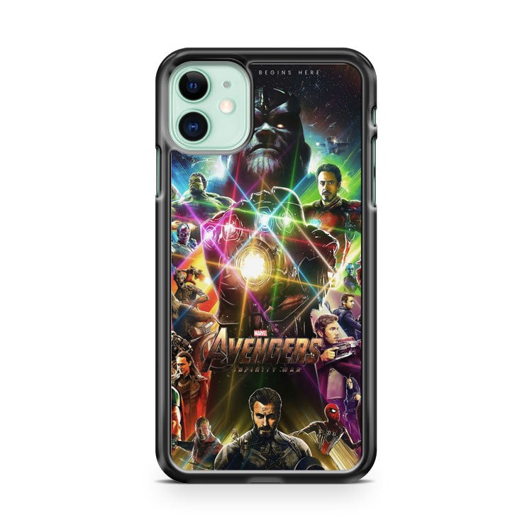 Avengers Infinity War Poster 3 iPhone 11 Case Cover | Oramicase