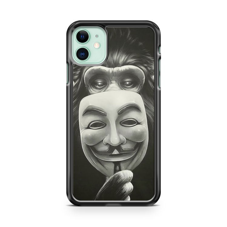 Anonymous Art iPhone 11 Case Cover | Oramicase
