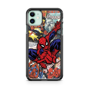 Anymode Marvel Comics Spiderman iPhone 11 Case Cover | Oramicase