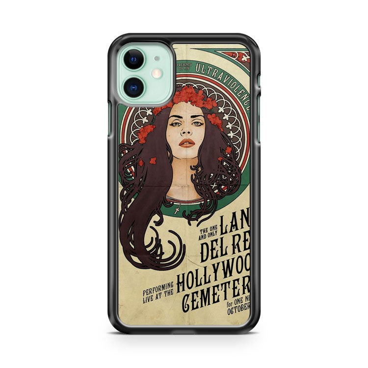 art deco lana del rey iPhone 11 Case Cover | Oramicase