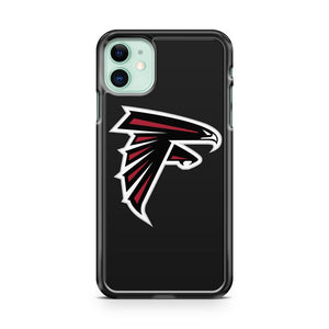 Atlanta Falcons Black iPhone 11 Case Cover | Oramicase