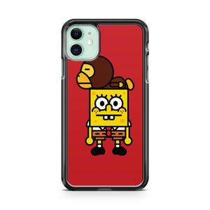 Bape x Spongebob 2 iPhone 11 Case Cover | Oramicase