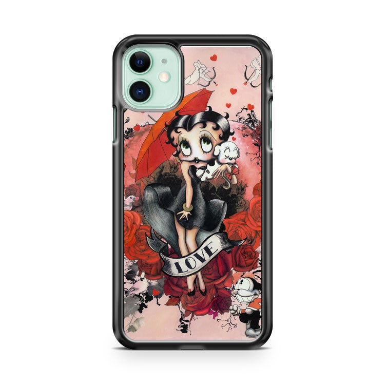 BETTY BOOP 3 iPhone 11 Case Cover | Oramicase
