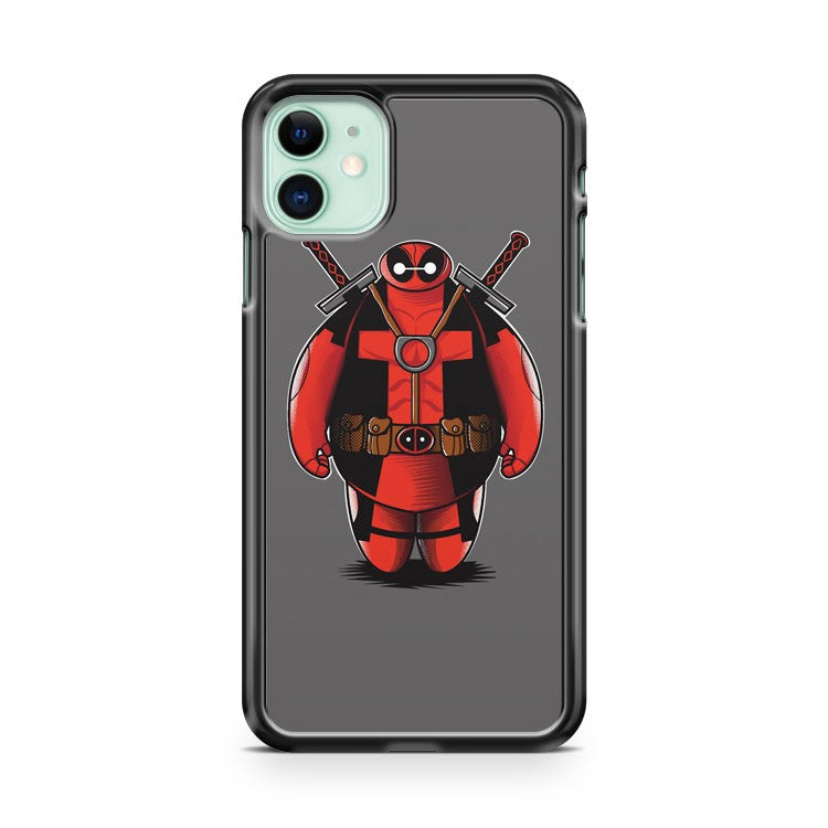 Big Deadmax 6 Deadpool Baymax iPhone 11 Case Cover | Oramicase