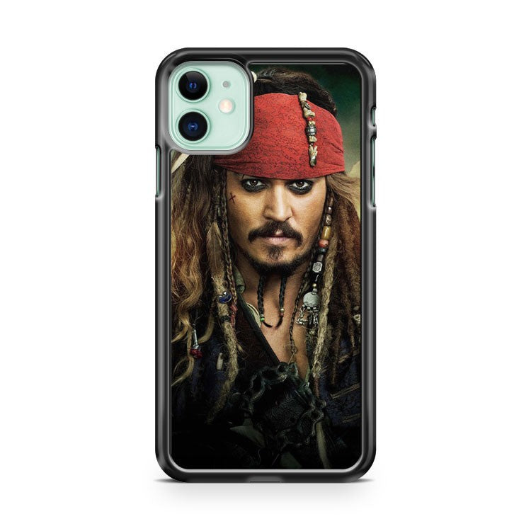Cool Captain Jack Sparrow Of Pirates iPhone 11 Case Cover | Oramicase
