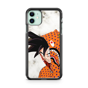 Cool goku bape marble iPhone 11 Case Cover | Oramicase