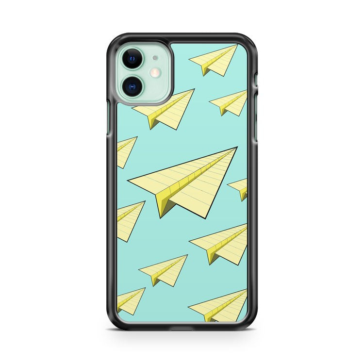Cool Paper Airplane iPhone 11 Case Cover | Oramicase