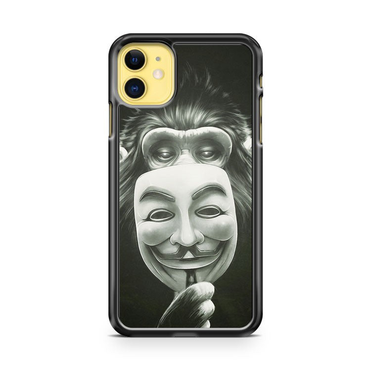 Anonymous I Ape iPhone 11 Case Cover | Oramicase