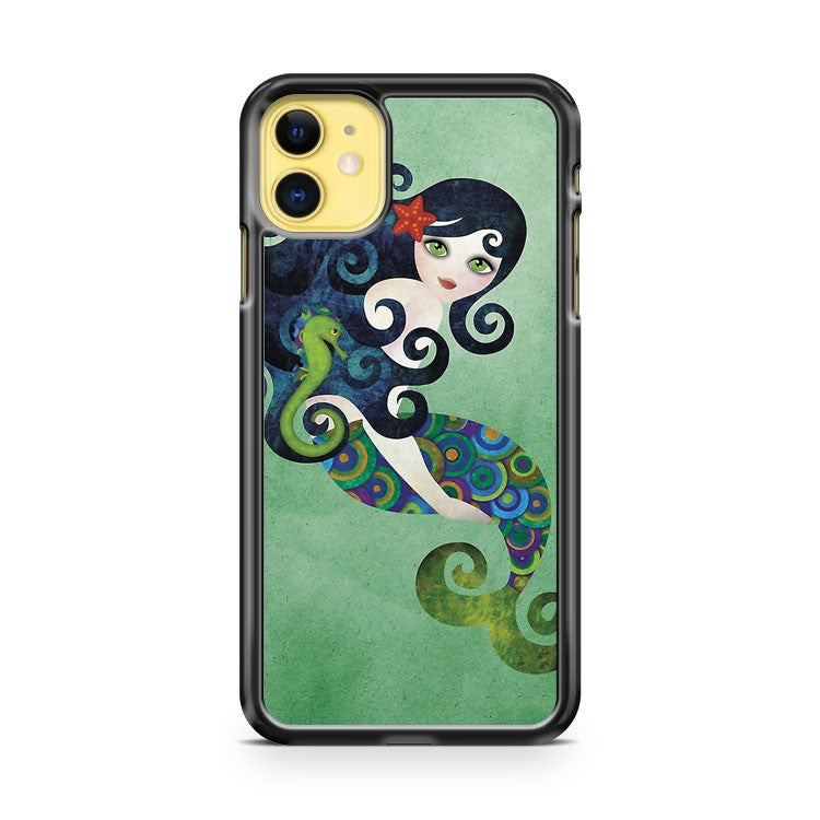 Aquamarine Mermaid iPhone 11 Case Cover | Oramicase