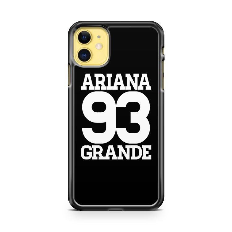 ariana grande 93 number iPhone 11 Case Cover | Oramicase