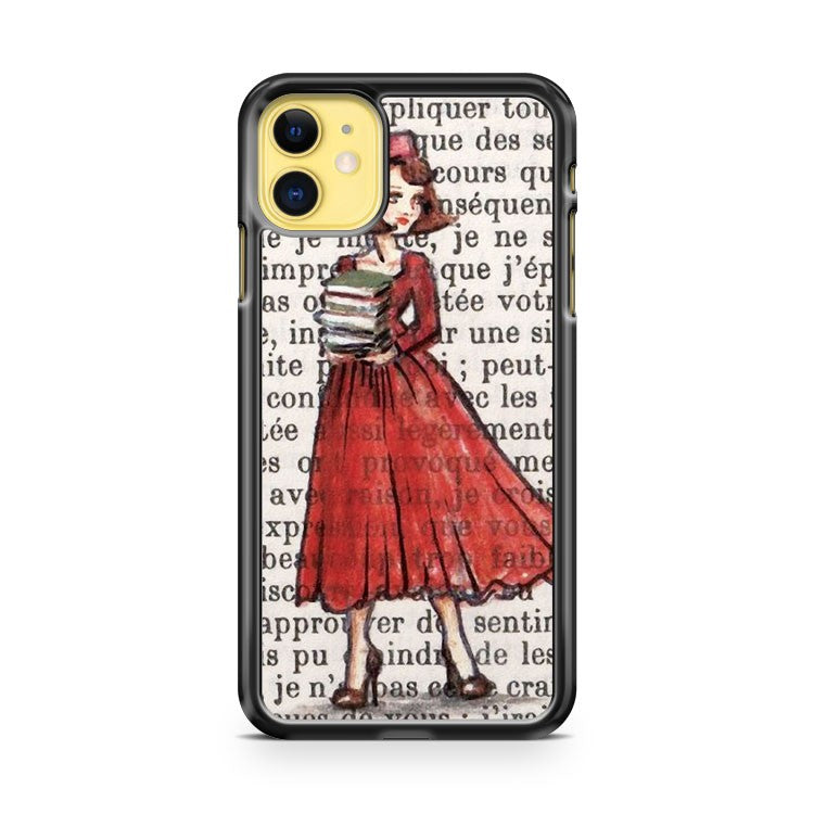 Armfuls Of Books iPhone 11 Case Cover | Oramicase