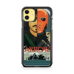 Arrow Arrow Vs Deathstroke iPhone 11 Case Cover | Oramicase