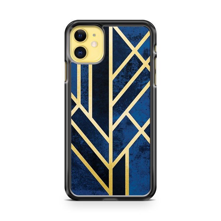 Art Deco Midnight iPhone 11 Case Cover | Oramicase