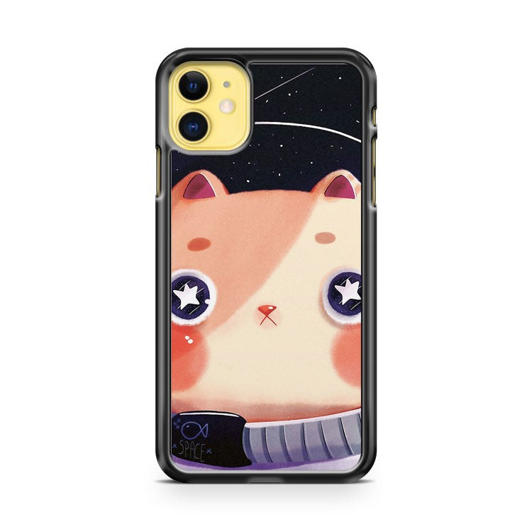 Astro Cat Cute iPhone 11 Case Cover | Oramicase