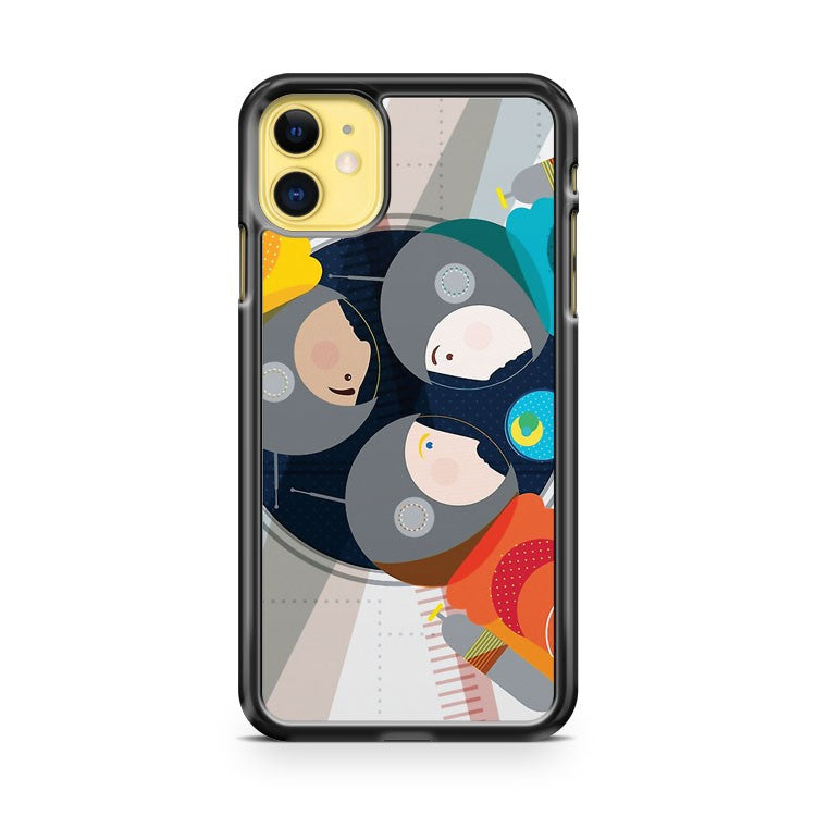 Astronauts in Space iPhone 11 Case Cover | Oramicase