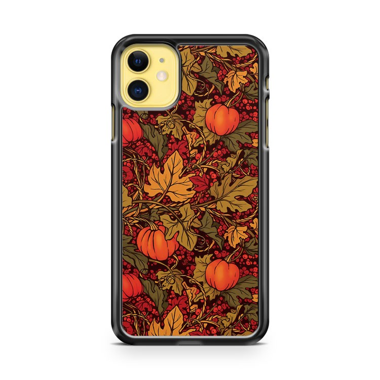 Autumn Pumpkins iPhone 11 Case Cover | Oramicase