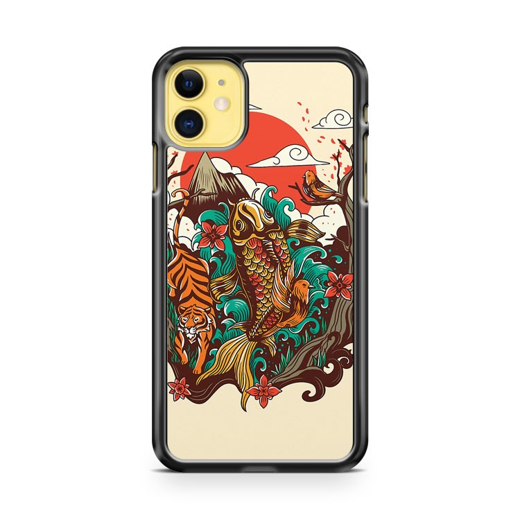 autumn sunset iPhone 11 Case Cover | Oramicase
