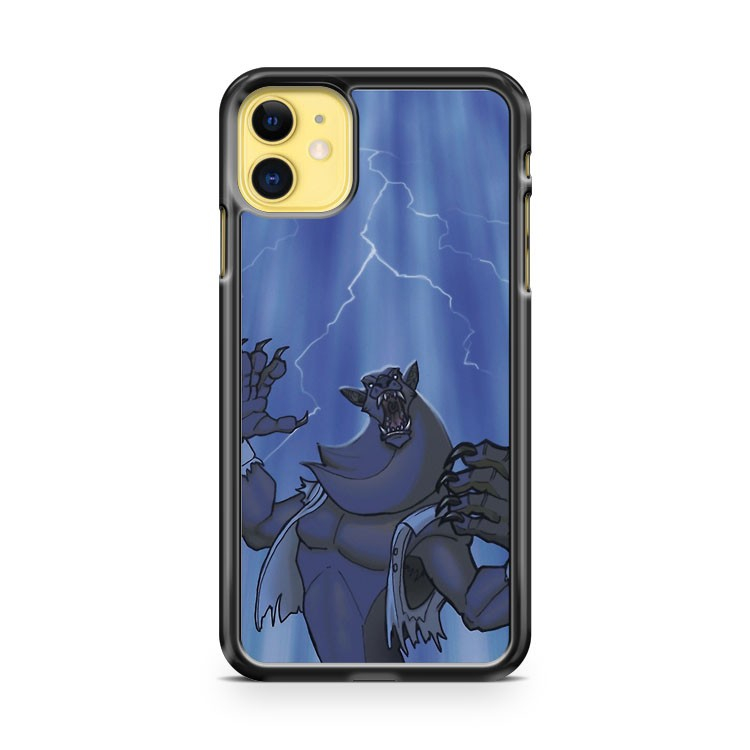 Badass Werewolf Roaring In Lightning iPhone 11 Case Cover | Oramicase