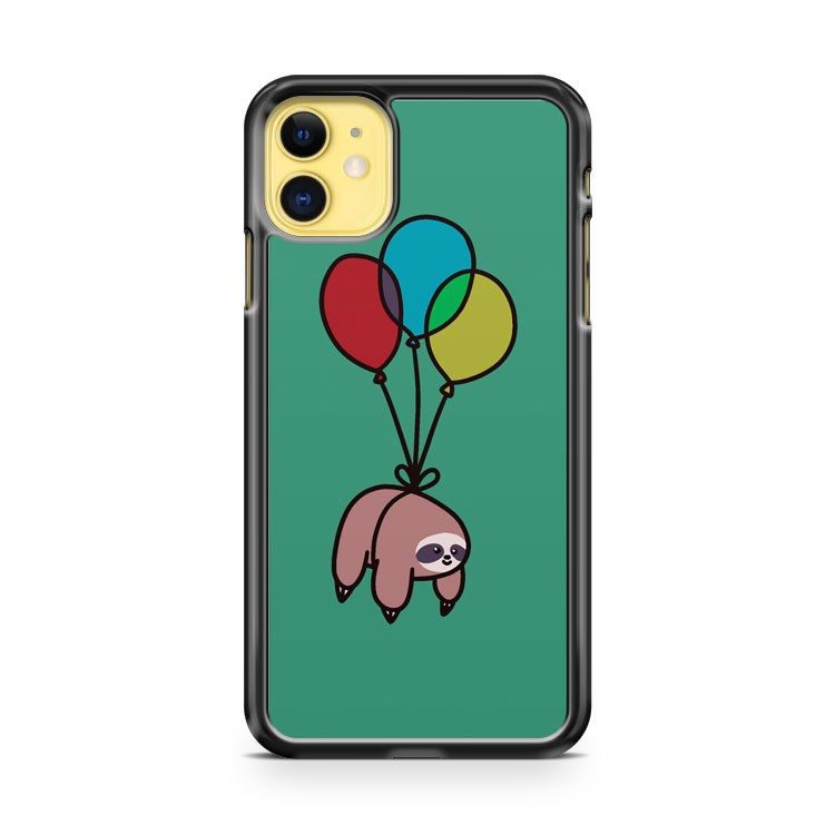 Balloon Sloth iPhone 11 Case Cover | Oramicase