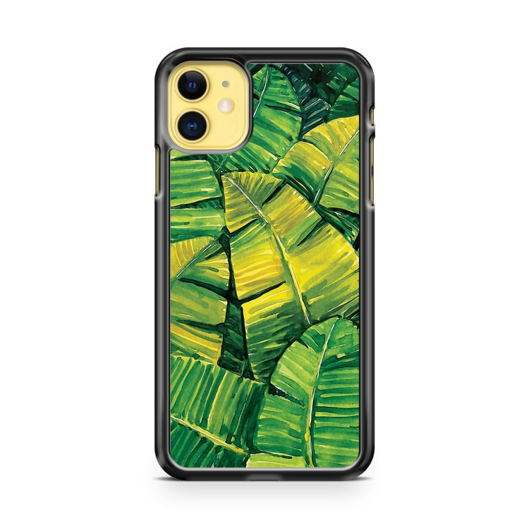Banana Leaves iPhone 11 Case Cover | Oramicase