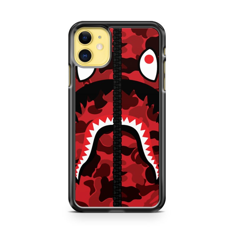 Bape Red iPhone 11 Case Cover | Oramicase