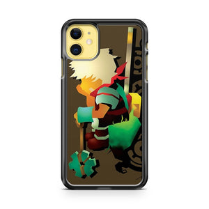 Bastion Let the Kid Think iPhone 11 Case Cover | Oramicase