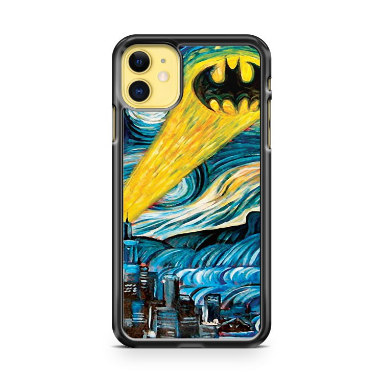 Batman Logo Stary Night iPhone 11 Case Cover | Oramicase