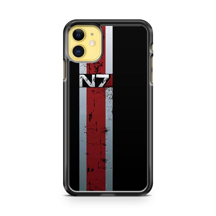 Battle Damaged Armor Stripe iPhone 11 Case Cover | Oramicase
