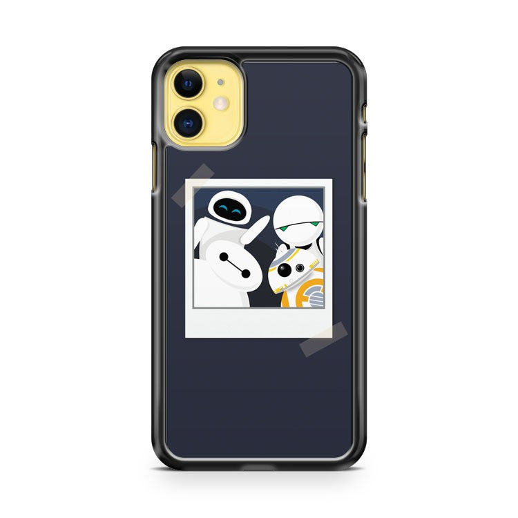 Baymax and Friends Selfie iPhone 11 Case Cover | Oramicase
